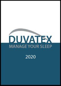 Catalogus Duvatex 2020 voorpagina